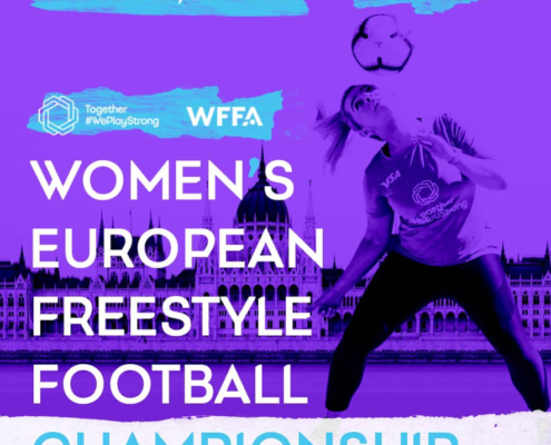 Women's European Freestyle Football