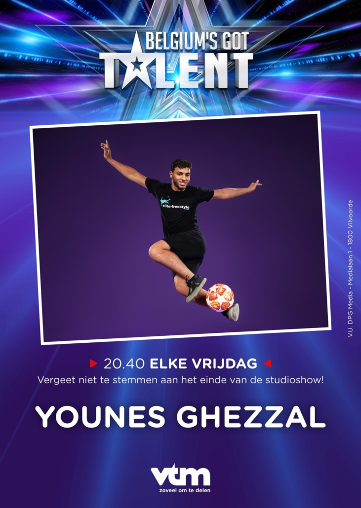 Youniceff at Belgium's Got Talent